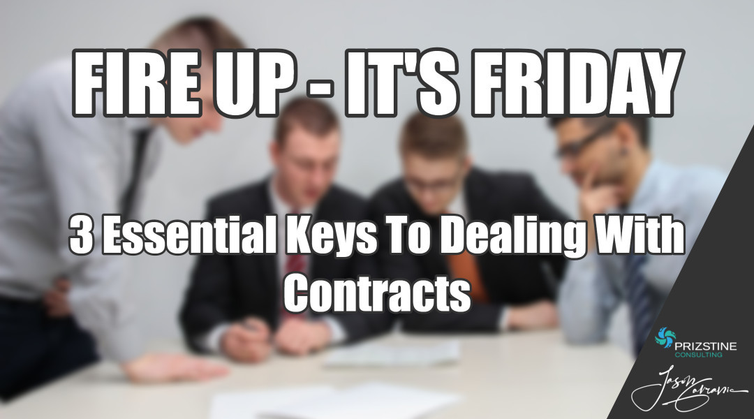 The 3 Essential Keys To Dealing With Contracts